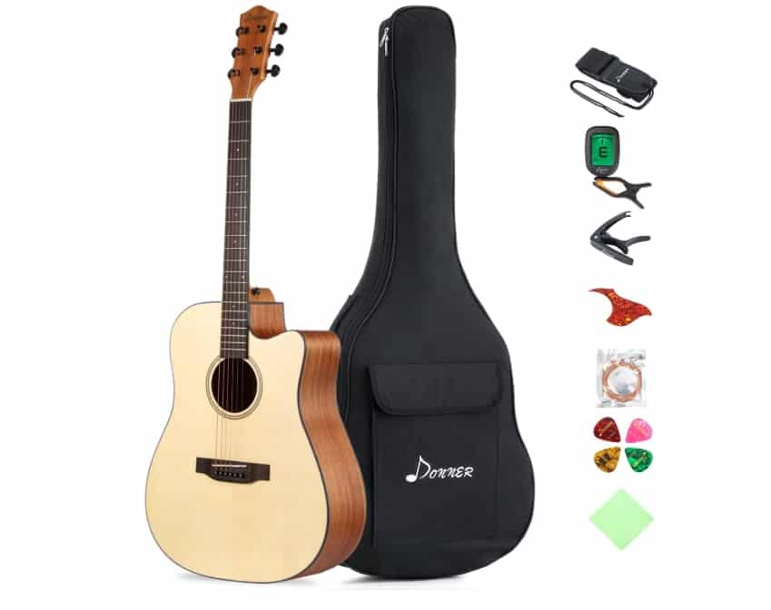best acoustic electric guitar under 500