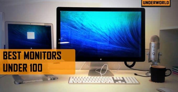 best monitor under 100