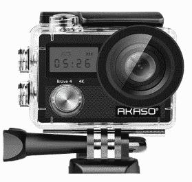 AKASO Brave best action camera under 100