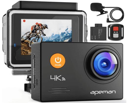 APEMAN A79 4K Action Camera best action camera under 100