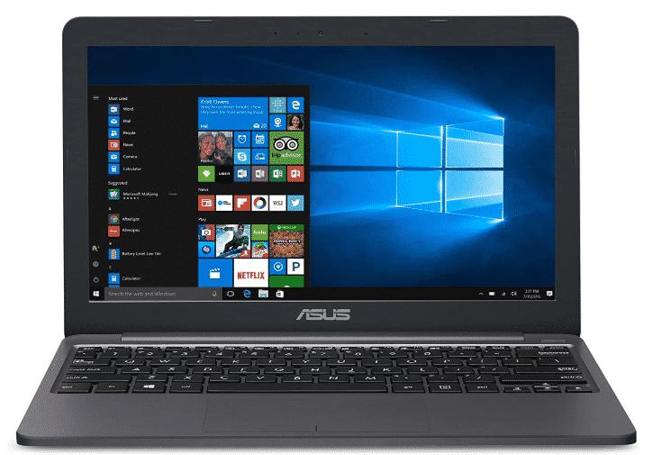 ASUS VivoBook L203MA best gaming laptop under 600
