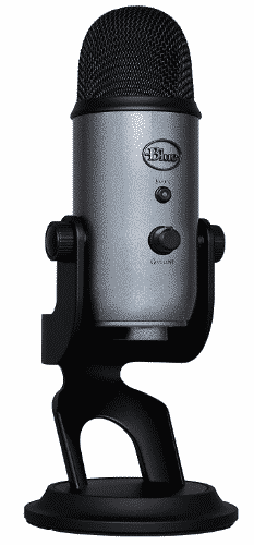 BLUE YETI USB MIC- best condenser mic under 200