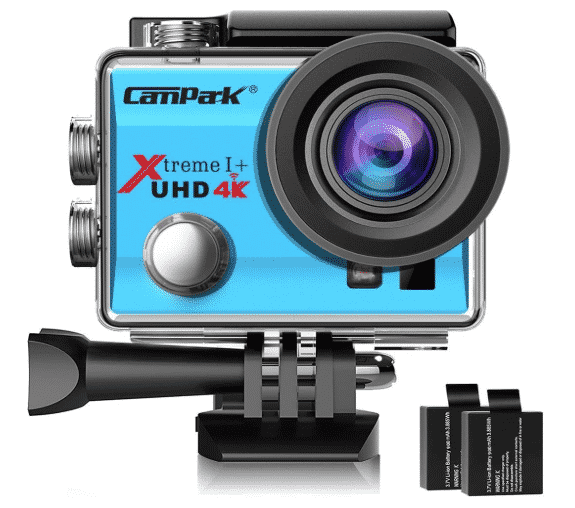 Campark ACT74 Action Camera best action camera under 100