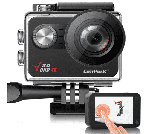 Campark V30 Native 4K Action Camera best action camera under 100