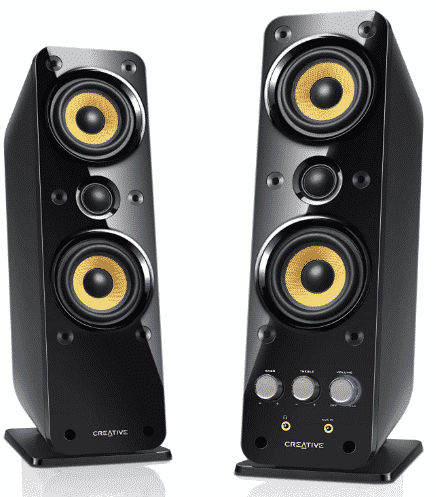 Creative GigaWorks T40 Series best bookshelf speakers under 200