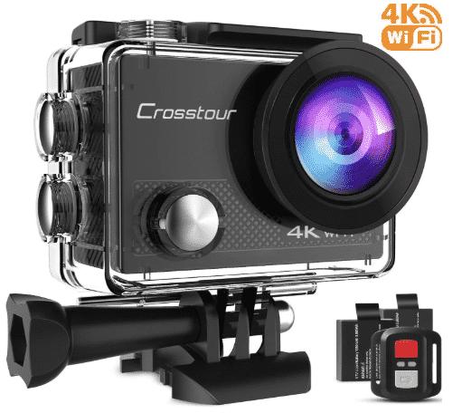Crosstour Action Camera 4K best action camera under 100