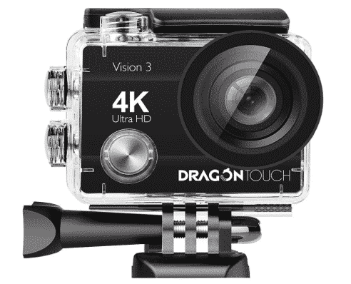 Dragon Touch 4K Action Camera best action camera under 100
