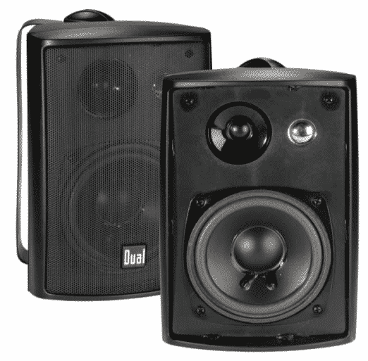 Dual Electronics LU43PB best bookshelf speakers under 200