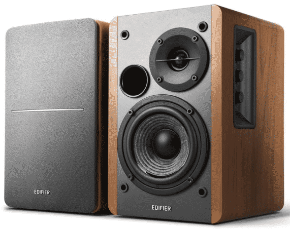 Edifier R1280T Powered Bookshelf Speakers best bookshelf speakers under 200