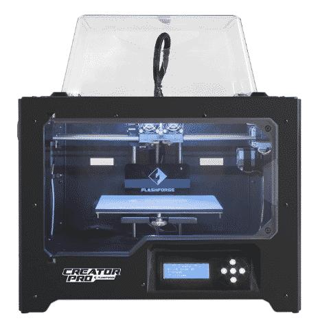 FlashForge 3D Printer Creator Pro best 3D printer under 1000