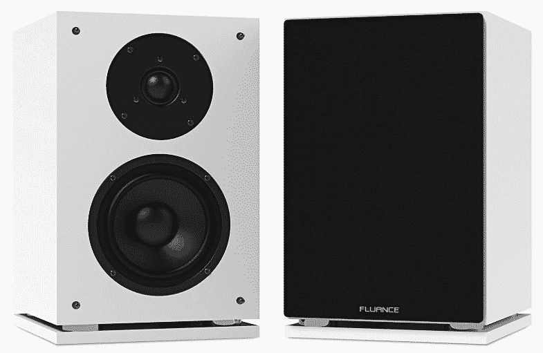 Fluance SX6WH High Definition best bookshelf speakers under 200