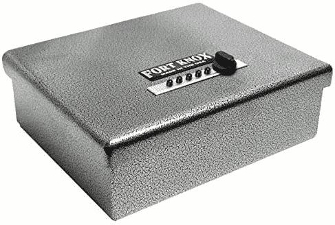 Fort Knox PB1 Handgun Safe with 13.5 Inch Dean Safe Pistol Sock - best gun safe under 500