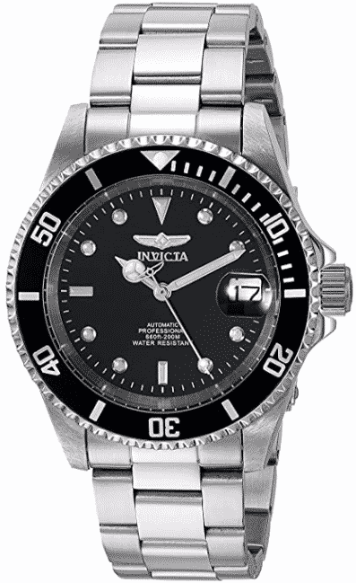 Invicta Men's 8926OB Pro Diver Stainless Steel Automatic Watch best automatic watches  under 500