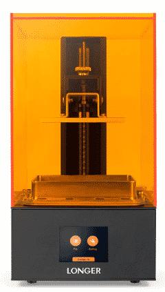 LONGER Orange 10 Resin SLA 3D Printer - best 3D printer under 1000