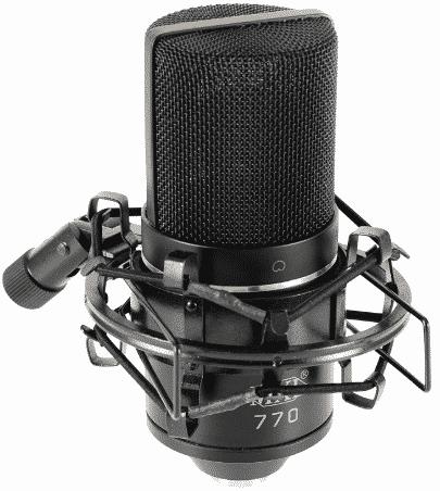 MXL Mics 770 best condenser mic under 200