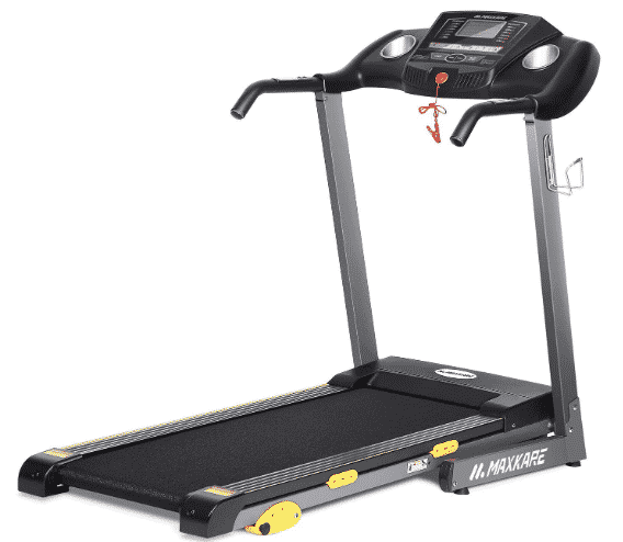MaxKare Folding Treadmill Electric Motorized Running Machine - best budget treadmill under $500