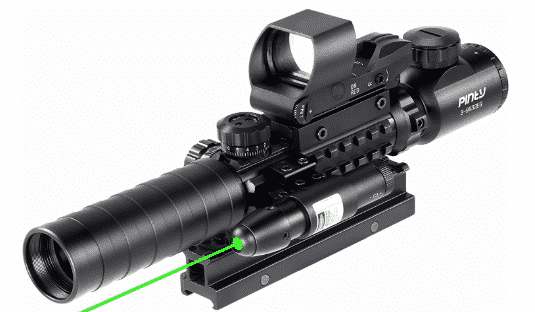 Pinty Rifle Scope 3-9x32 best AR 15 scope under 200
