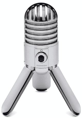 Samson Meteor Mic USB Studio Condenser Microphone best condenser mic under 200