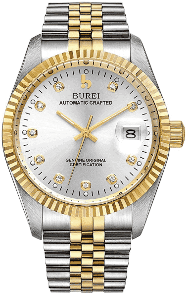 BUREI'S  best automatic watches  under 500