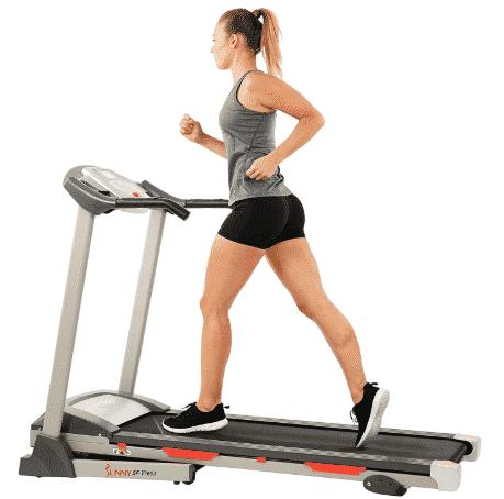 Sunny Health & Fitness SF-T7603 Electric Treadmill - best budget treadmill under $500
