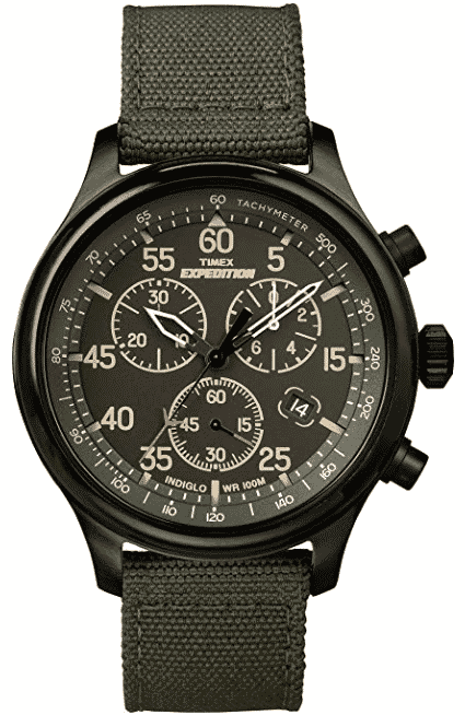 Timex Men's Expedition Field Chronograph Watch best automatic watches  under 500