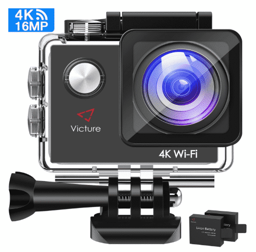 Victure AC800 4K 20MP Ultra HD Action Camera best action camera under 100
