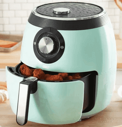 DASH DFAF455GBAQ01 DELUXE ELECTRIC best air fryer under $100