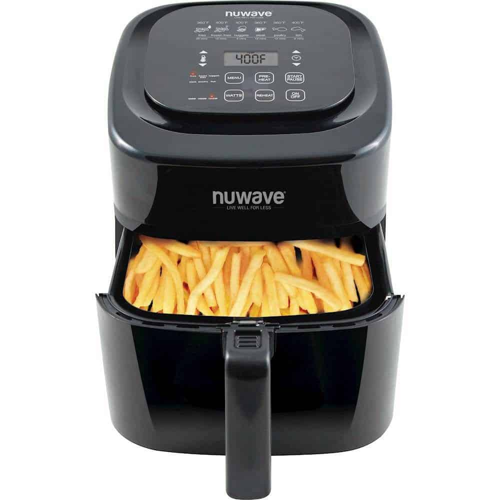 NUWAVE BRIO 6-QUART DIGITAL AIR FRYER best air fryer under $100
