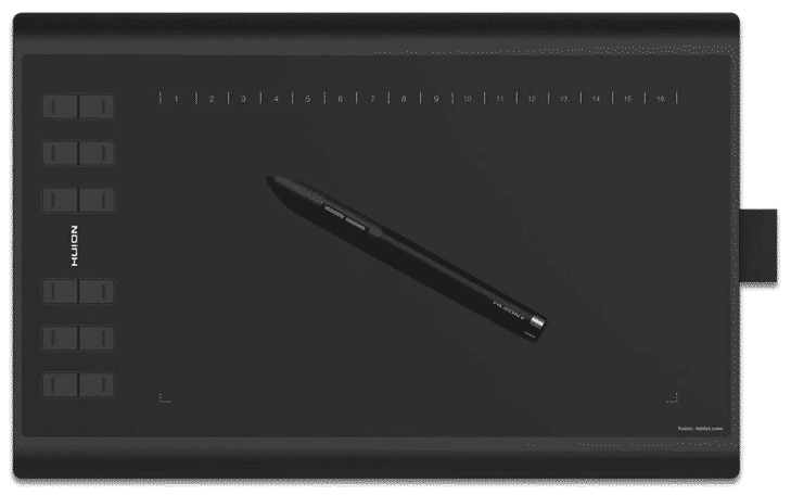 HUION NEW - best drawing tablet under 100