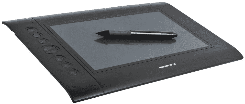 Monoprice 110594 10 x 6.25-inch Graphic Drawing Tablet