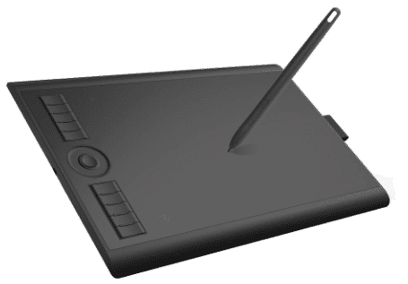 GAOMON M10K2018  - best drawing tablet under 100