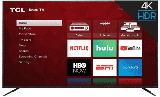TCL 75S425 - best 75 inch TV under 2000