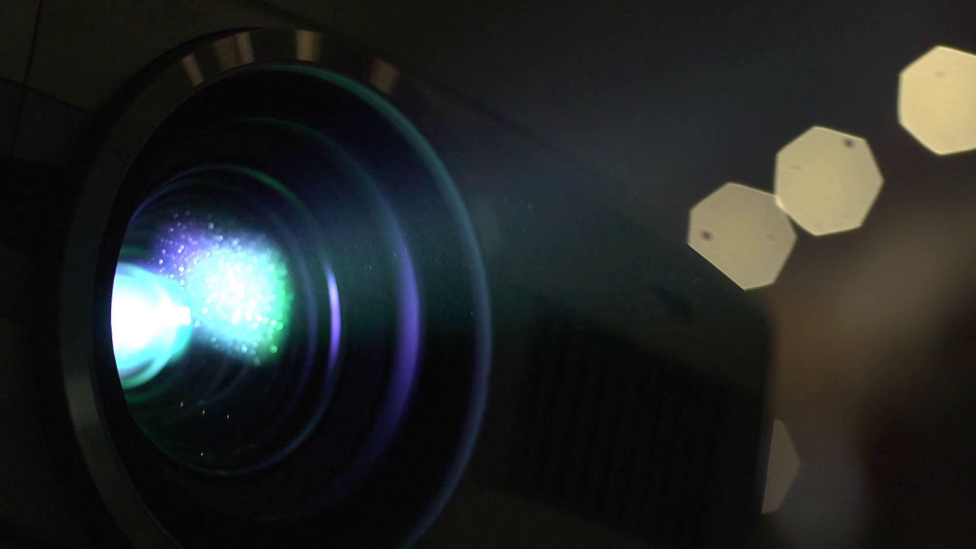 clean projector lens