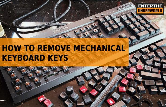 How To Remove Mechanical Keyboard Keys (Quick & Easy Way) | ETUW