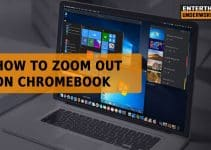how to zoom out on Chromebook