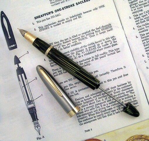 fill a fountain pen