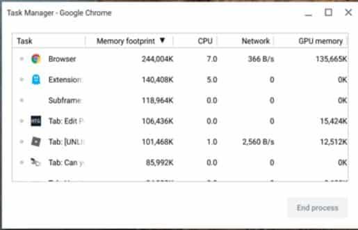 Fix Chromebook Frozen