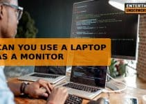 can you use a laptop as a monitor