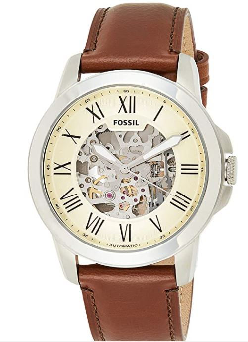 Fossil Men's Grant - BEST MECHANICAL WATCHES UNDER 200