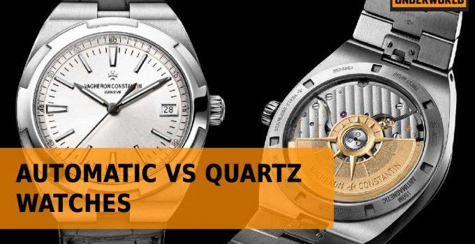 Automatic vs quartz watches